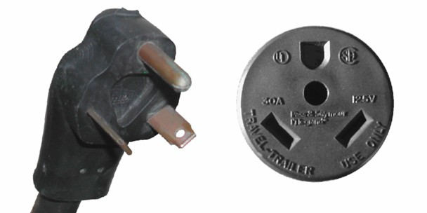 Rv Shore Power Or Electrical Connector