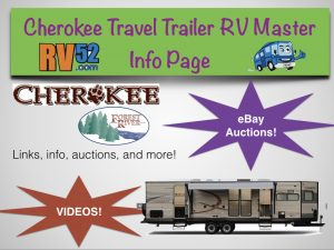 cherokee rv travel trailer master info page