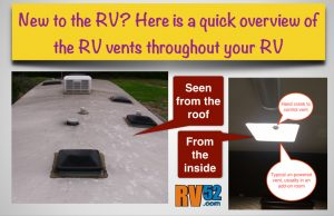 standard roof rv vents information page